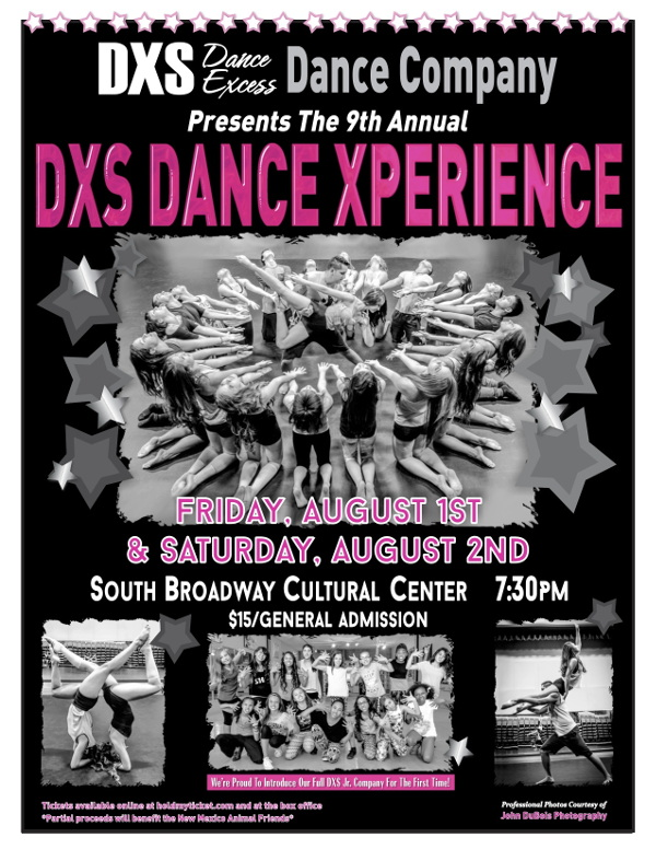 DXS Dance Xperience Flyer