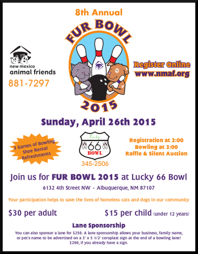 image of Fur Bowl 2015 Flyer