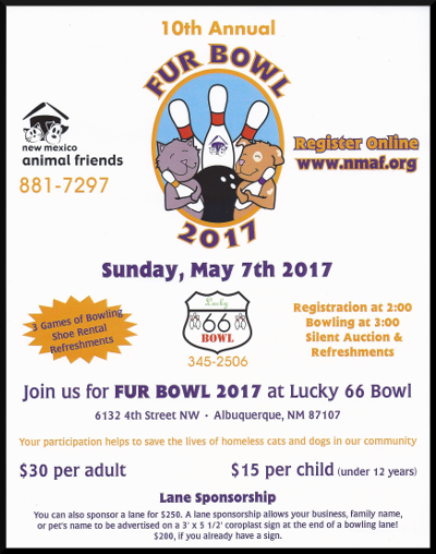 image of Fur Bowl 2017 Flyer