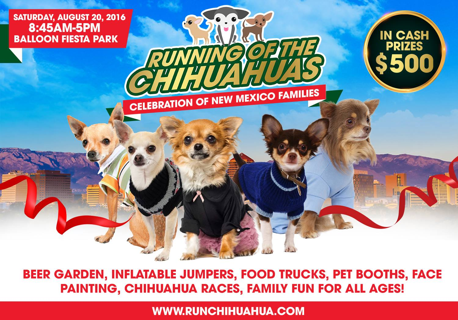 image of Running of the Chihuahuas Flyer