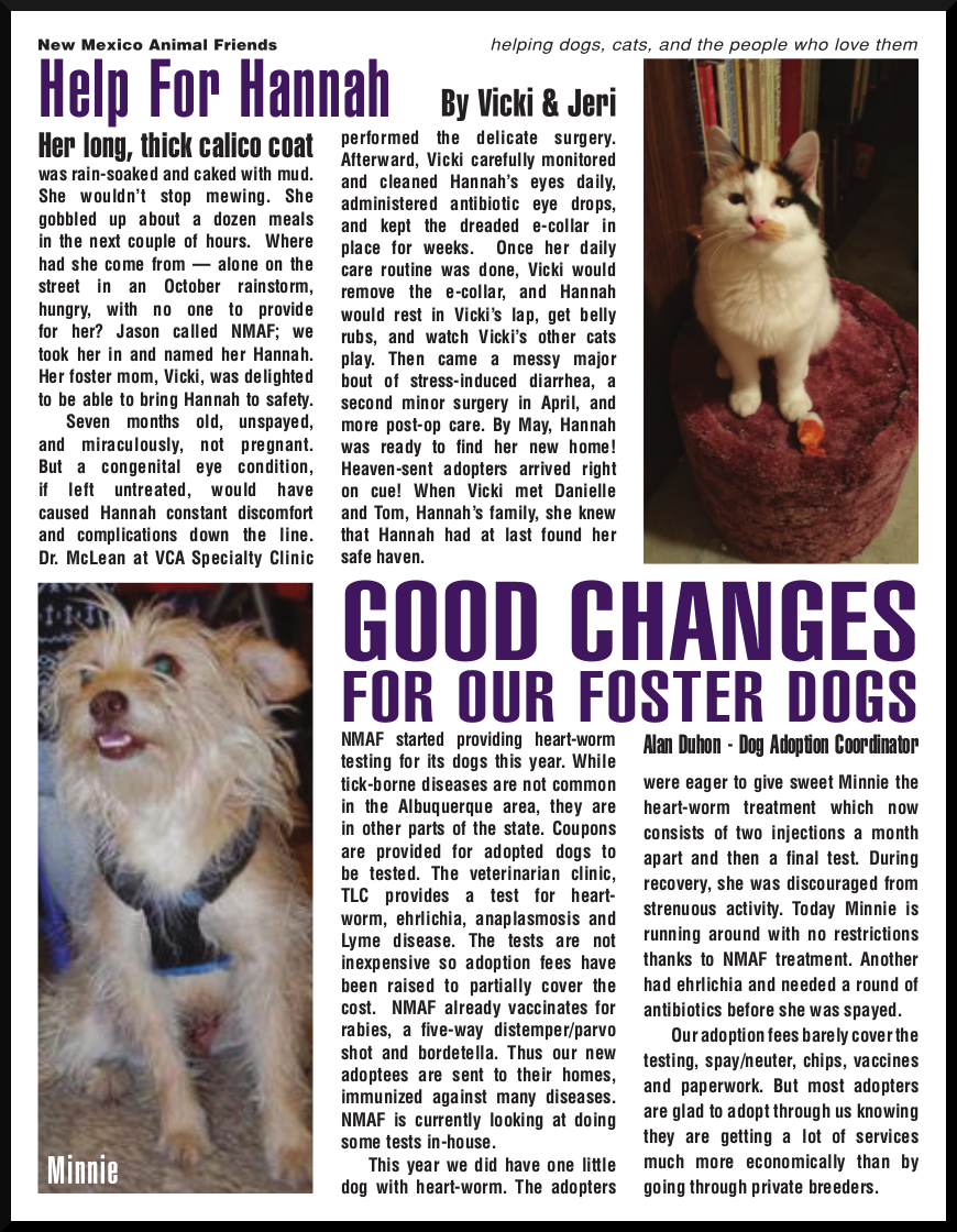 Image of Newsletter, page 2